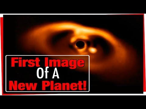 First Confirmed Image of Newborn Planet! New Planet Discovered