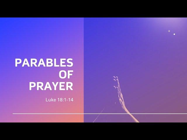 Parables of Prayer · 210117 AM · Pastor Jerome Pittman