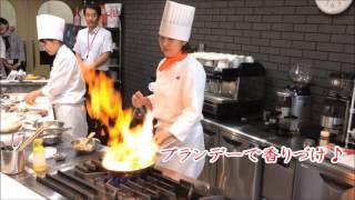 Food国際調理製菓専門学校カフェ学科の佐々木先生が オープンキャンパス...