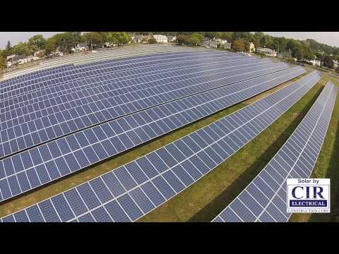 1.1MW Solar Install at Bausch & Lomb in Rochester, NY.