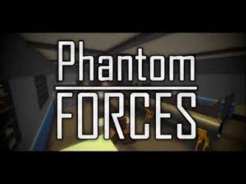 ROBLOX PHANTOM FORCES! | BlueNoelle8