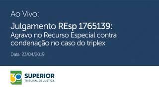 Reproduzir STJ julga recurso de Lula no caso do Triplex