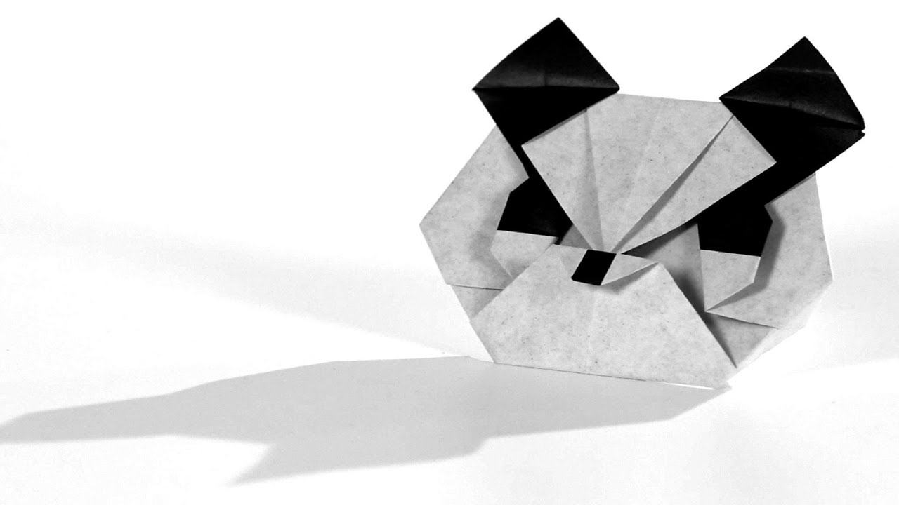 Easy Origami Panda Instructions With 22 Steps   720x1280
