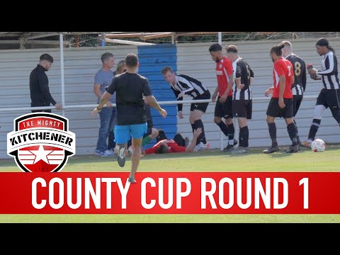 ACCIDENT IN THE COUNTY CUP - ROUND 1 | Brotherhood's Sunday League Football | Kitchener FC