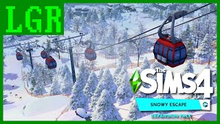 LGR - The Sims 4 Snowy Escape Review