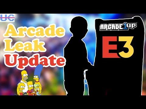 More Arcade1up E3 Leaks And It's ..Not What I Expected from Unqualified Critics