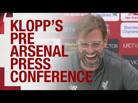 Jürgen Klopp's pre-match press conference | Arsenal