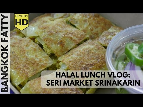 Halal Lunch Vlog: Rotee Fatima Food Court Stall in Bangkok