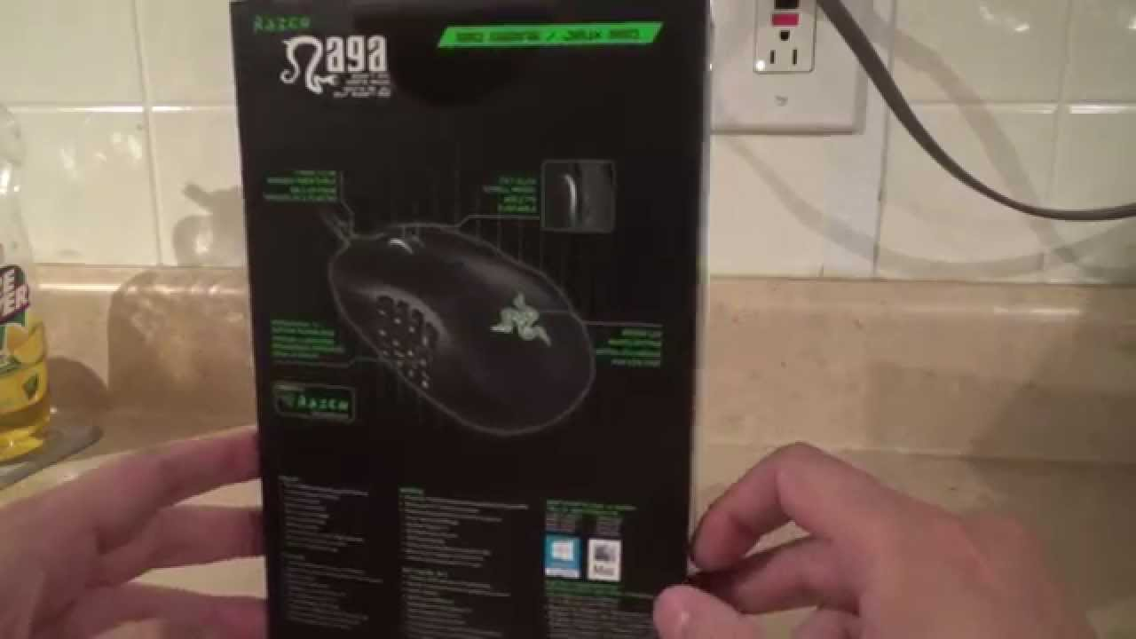 00f3a34936b Razer Naga 2014 Expert MMO gaming mouse Unbox and Overview - YouTube
