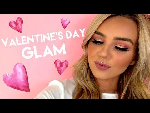 EXTRA glam Valentine's Day tutorial ft. Lex   tarte talk