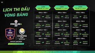 Trực Tiếp Giải Đấu EACC 2018 - Group Stage Day 2 [FIFA Online 4 - Vietnam]