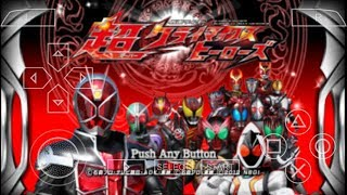 Gambar cover Cara Download Game Kamen Rider Super Climax Heroes PPSSPP Android