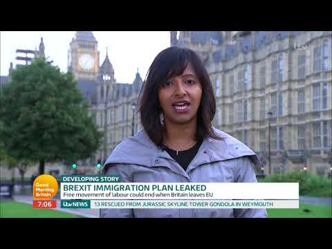 Brexit Immigration Plan Leaked | Good Morning Britain