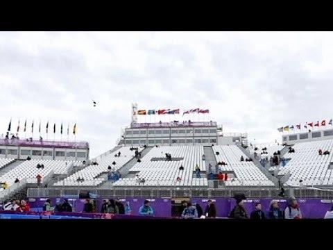 Сочи-2014: до 10 % свободных мест в первый день соревнований