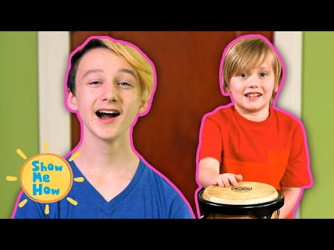 Fun With Drums | WITH BLOOPERS! | Show Me How Parent Video