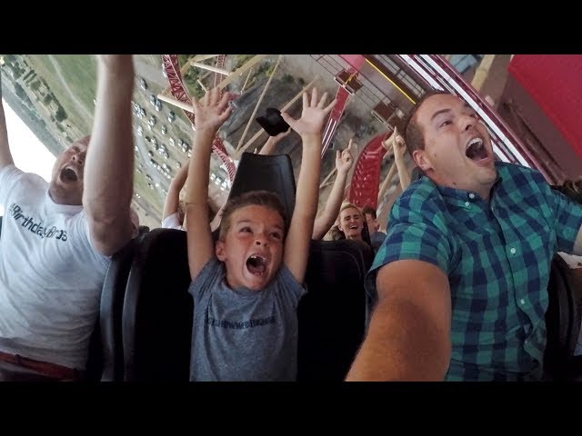 🎢 TAKING KIDS ON ALL THE TERRIFYING ROLLER COASTERS 😱