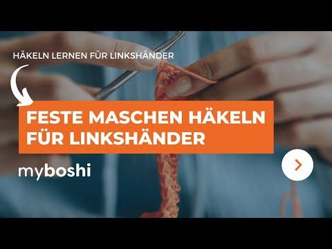 Feste Maschen Häkeln Linkshänder Anleitung Youtube