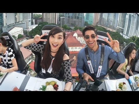 Dinner in the Sky - Alodia Vlog