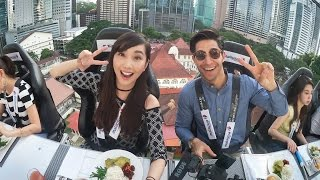 Dinner in the Sky - Alodia Vlog