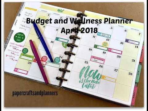 My Budget and Wellness Planner Set up