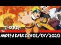 Convite Virtual Animado Personalizado Naruto