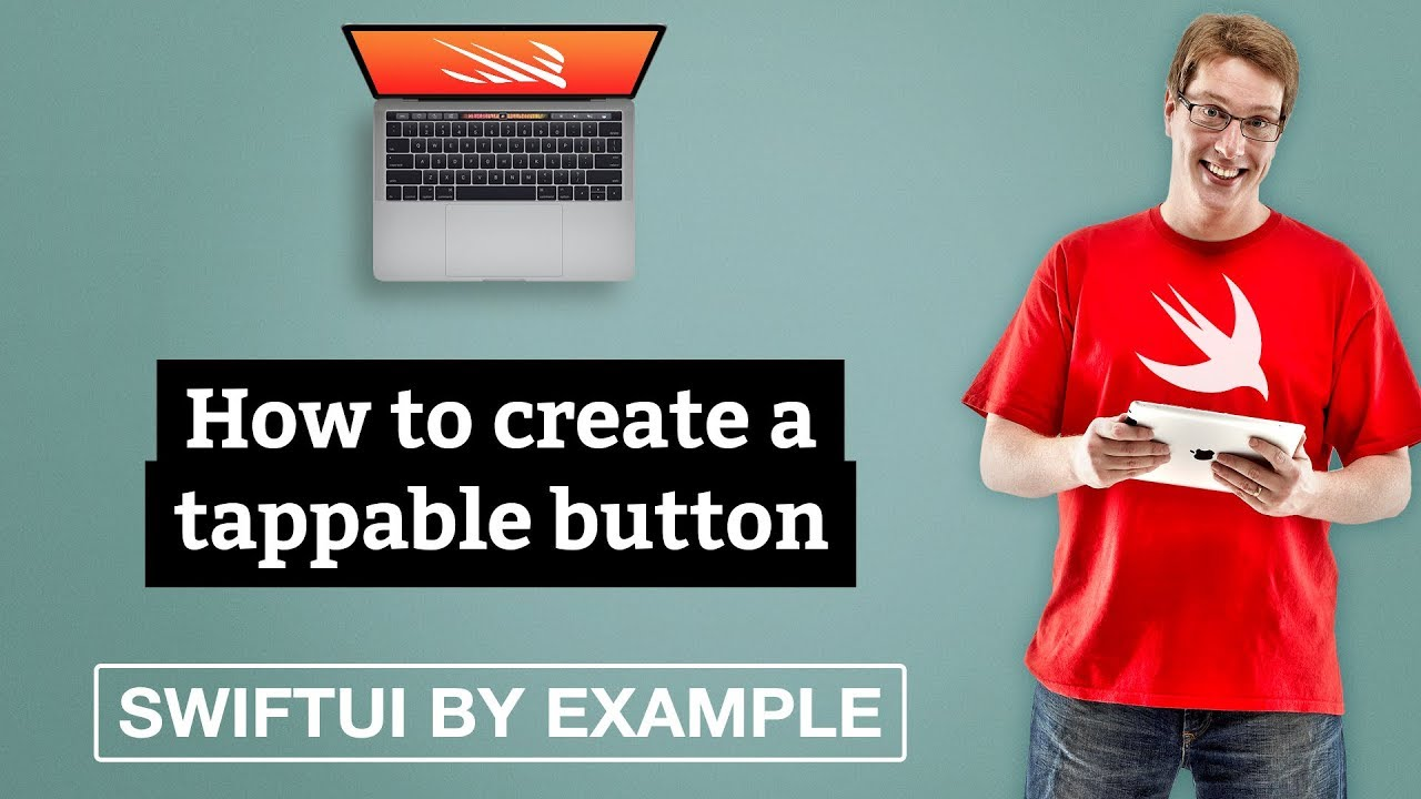 How to create a tappable button - SwiftUI by Example