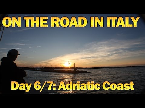 On The Road In Italy Day 6 & 7 - Adriatic Coast