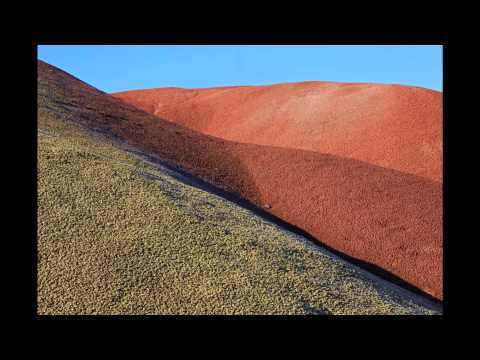 The Painted Hills of John Day Fossil Beds