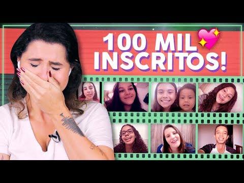 SURPRESA DOS INSCRITOS! ESPECIAL DE 100K! | Alice Aquino