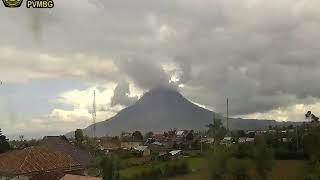 19/9/2018 WITA - Mt Sinabung TimeLapse