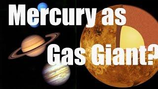 WAS MERCURY A GAS GIANT? Analyzing Mercury Surface in Universe Sandbox 2