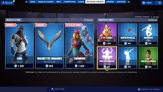 NEW SKIN NEW FORTNITE BOUTIQUE of August 20th (TODAY'S BOUTIQUE)!