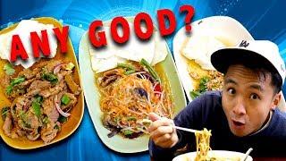 Melbourne food court   thai food