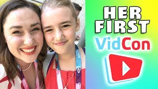 Her First VidCon!