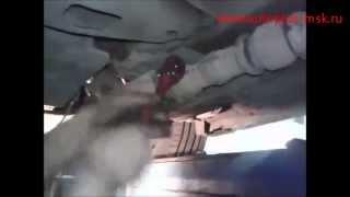 Ремонт и замена катализаторов Infiniti G 2.5 на пламегасители