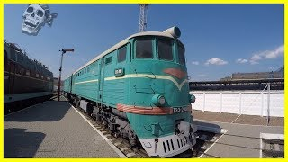 Abandoned Old Russian Trains Exploring 2018. Rusty Soviet Trains. Railway Museum 2018