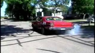 1966 Galaxie 500xl burnout 460 bored 30over, magna flow mufflers. burns through all 3 gears bcuzicn