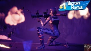 Getting A Victory Royale With The Redline Skin (Fortnite Battle Royale)