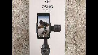 DJI Osmo Mobile 2 Review setup sample footage 4K iPhone 7 Plus