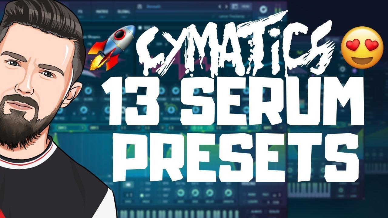FREE Cymatics Serum Presets 2019!