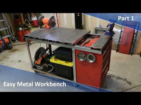 Easy Metal Workbench Part 1