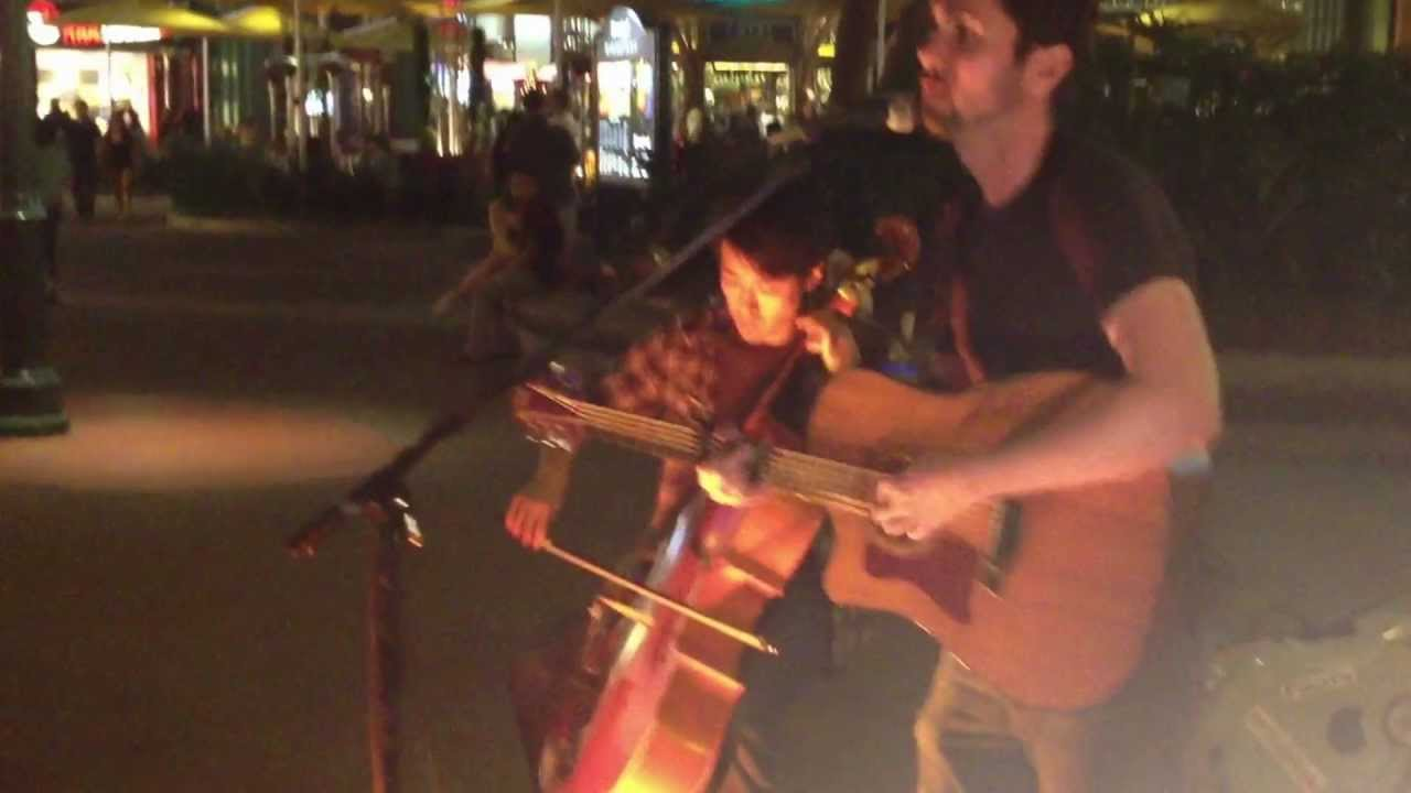 Oak And Gorski In Downtown Disney