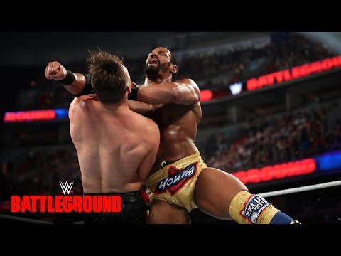 Darren Young vs. The Miz - Intercontinental Title Match: WWE Battleground 2016 on WWE Network