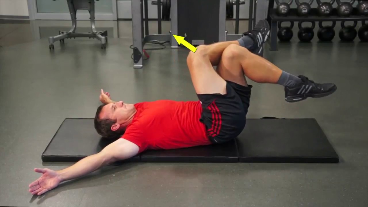 Internal External Oblique Exercises on Mat - YouTube