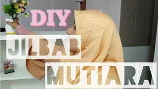 DIY HIJAB (series#4) JILBAB MUTIARA/ JILBAB LAMA JADI BARU!/ how to remake old hijab to new designe