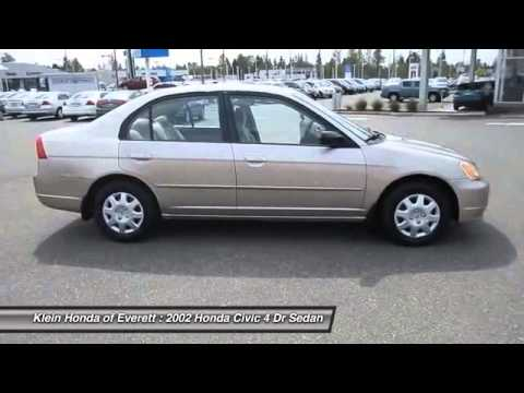 2002 honda civic everett wa 13064a youtube
