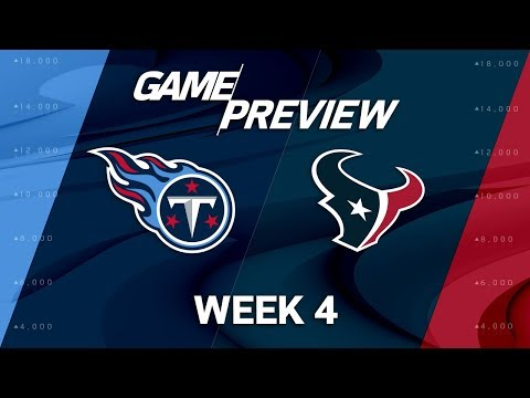 Tennessee Titans vs. Houston Texans | Week 4 Game Preview | Move the Sticks