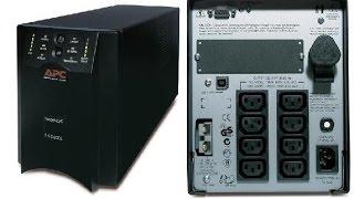 видео Как собрать батарею RBC7 для APC Smart UPS