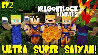 Dragon Block Xenoverse: Ultra Super Saiyan Power?! (Dragon Ball Z Minecraft EP 2)