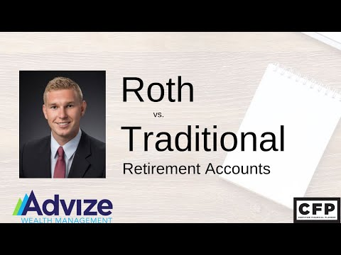 Roth vs Traditional Accounts